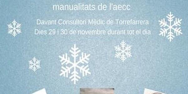 Mercat d'artesania nadalenca a benefici de l'AECC