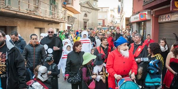 Més de 1.000 persones celebren el Carnestoltes a Torrefarrera