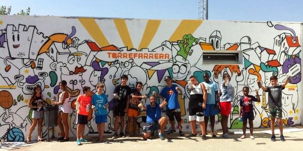 Més de 30 joves participen en les activitats i tallers de l'Estiu Jove de Torrefarrera