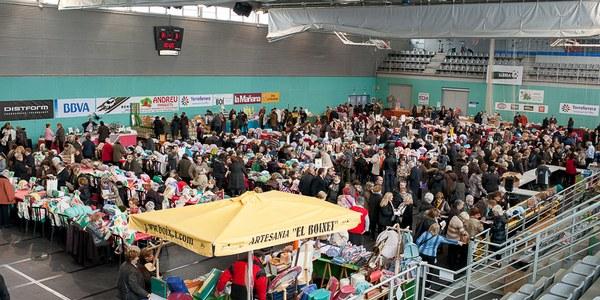 Més de 400 participants a la XVII Trobada de Puntaires de Torrefarrera