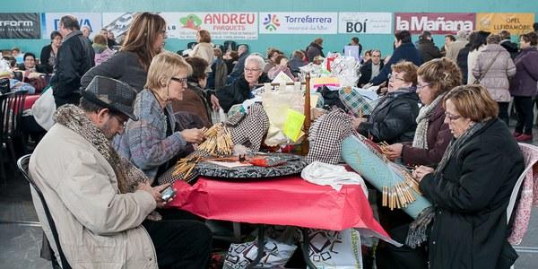 Més de 400 participants a la XVIII Trobada de Puntaires de Torrefarrera