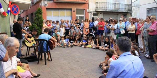 Més de 500 persones als Racons musicals de Torrefarrera per celebrar el Dia de la Música