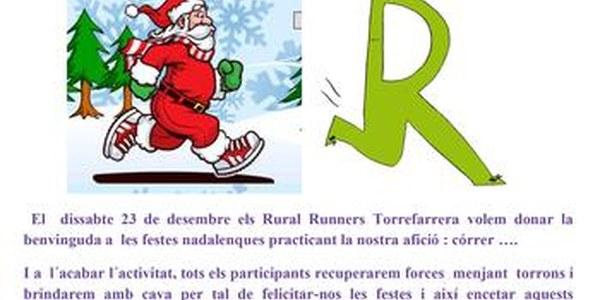 Nova edició del Correnadal per donar la benvinguda a les festes amb esport