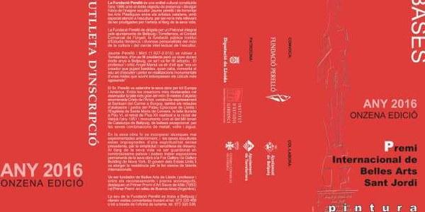 Onzena Edició Premi Internacional de Belles Arts Sant Jordi
