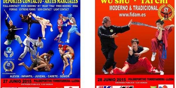 Open d'Espanya d'Esports de Contacte i Arts Marcials a Torrefarrera