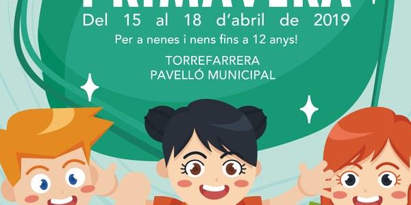 Parc de Primavera de Torrefarrera, del 15 al 18 d'abril al pavelló municipal