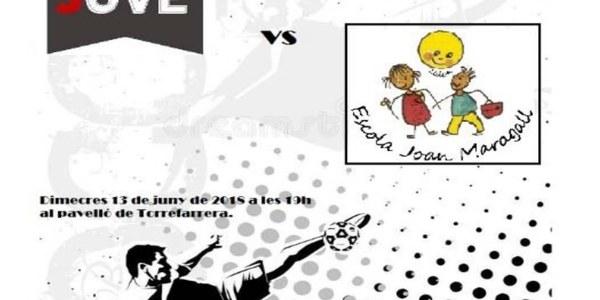 Partit de Futbol Sala amistós de Cal Jove vs Escola Joan Maragall