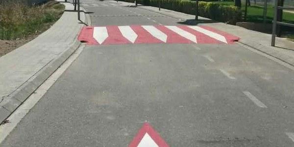 Passos elevats antiatropellament a la zona escolar de Torrefarrera