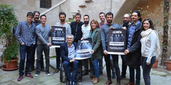 Presentació del 6è Festival Re-Sona de Torrefarrera amb Els Amics de les Arts, EnZel i DJ Monka
