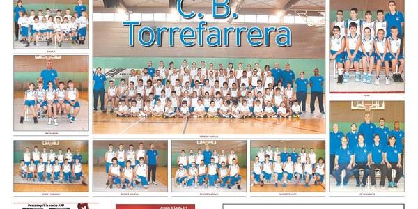 Presentació oficial dels equips del C.B. Torrefarrera