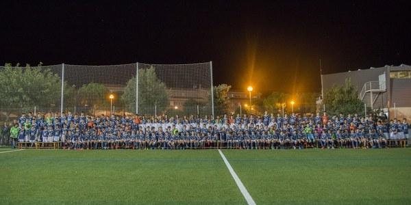 Presentació oficial dels equips del C.E. Mig Segrià al Complex Esportiu de Torrefarrera