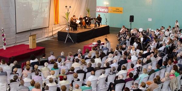 Prop de 300 persones assisteixen a la cloenda de la 27a Setmana Cultural de Torrefarrera