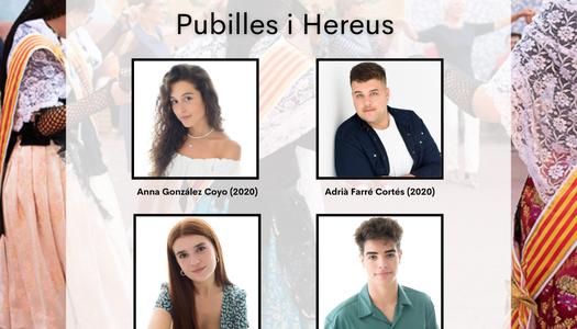Pubilles i Hereus de Torrefarrera 2020 i 2021