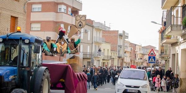 Rècord de 220 regals repartits pels Reis Mags d'Orient als nens i nenes de Torrefarrera