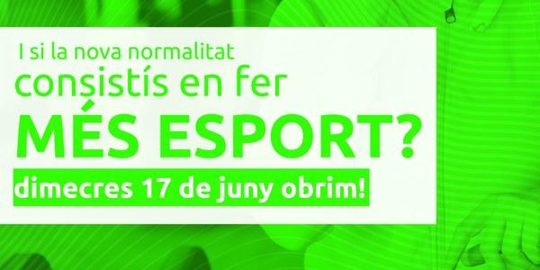 """Reobertura d'activitats dirigides """"Complex esportiu Torrefarrera"""""""
