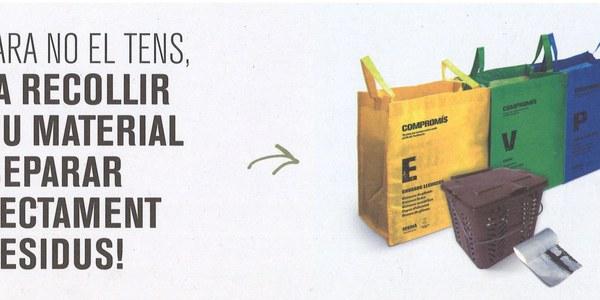 Repartiment de kits de reciclatge