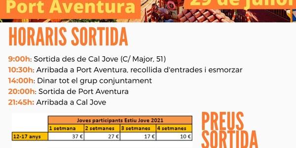 Sortida a Port Aventura