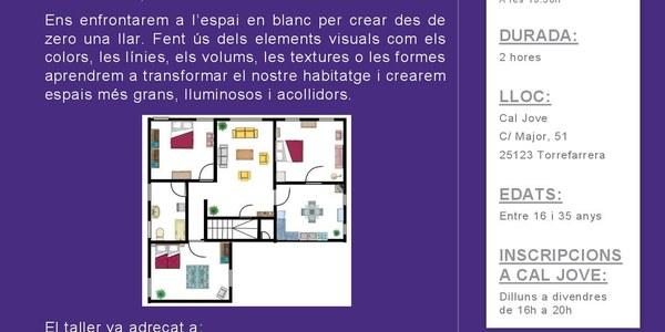 Taller de Decoració: Transformem casa nostra en un espai acollidor