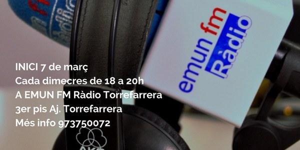 "Taller d'EMUN FM Ràdio ""Escola de Ràdio"""