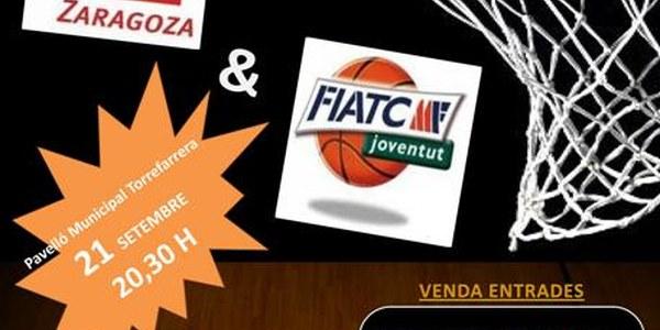 Torrefarrera acull el proper dissabte el partit entre el FIATC Joventut i el CAI Zaragoza