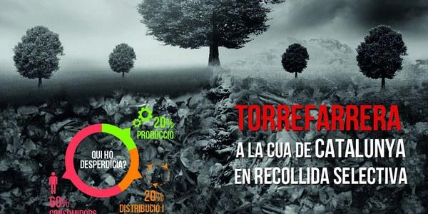 Torrefarrera continua un any més amb la campanya #ElFuturQueVolem per seguir fomentant la recollida selectiva entre la ciutadania i lluitar contra el malbaratament d'aliments