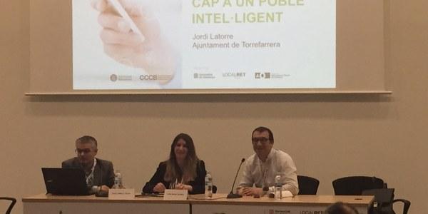 """Torrefarrera, exemple de poble """"smart"""" en el II Congrés Digital de Catalunya"""