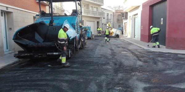 Torrefarrera finalitza les obres de millora del clavegueram al carrer Carretera