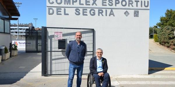 Torrefarrera homenatja Antoni Palau i Manel Bosch posant el seu nom als equipaments esportius municipals