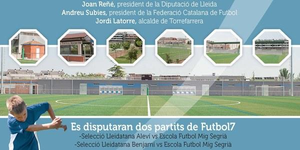 Torrefarrera inaugura el Complex Esportiu del Segrià, divendres 6 de juny