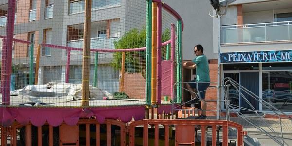 Torrefarrera inspecciona les firetes de la Festa Major perquè compleixin totes les mesures de seguretat