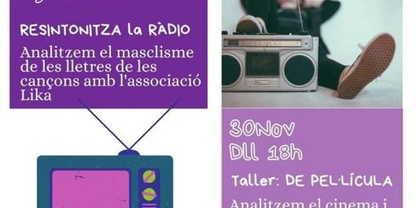 Torrefarrera Jove organitza dos tallers online per a joves amb motiu del 25N