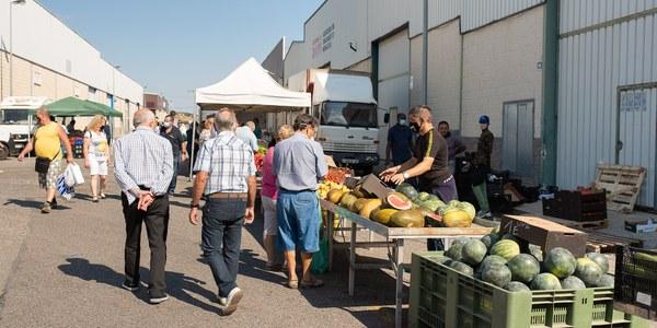 Torrefarrera reobre el mercat setmanal aquest diumenge amb les parades d'alimentació