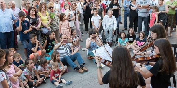 Torrefarrera s'omple de música en una nova edició dels 'Racons musicals' per celebrar el Dia de la Música