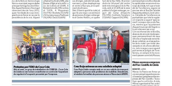 """Torrefarrera """"suporta"""" el """"parking"""" de Lleida"""