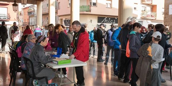 V Caminada Popular de Torrefarrera a Malpartit amb prop de 190 participants
