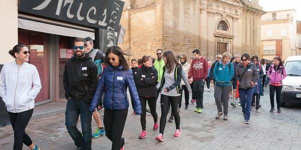 VI Caminada Popular de Torrefarrera a Malpartit amb 150 participants