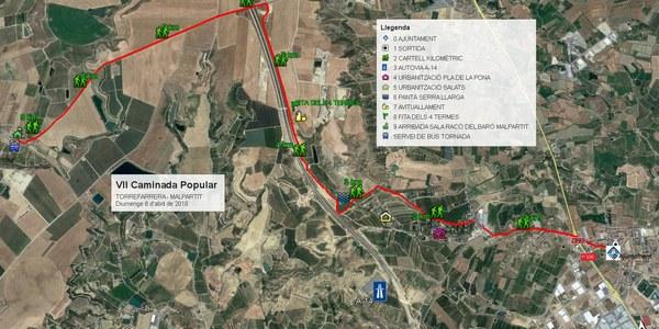 VII Caminada popular Torrefarrera-Malpartit