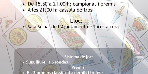 VIII Campionat de Botifarra de Torrefarrera