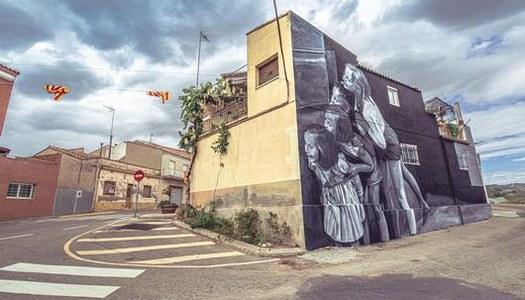 Vuit artistes participaran en el 5è Torrefarrera Street Art Festival de l'1 al 9 de setembre
