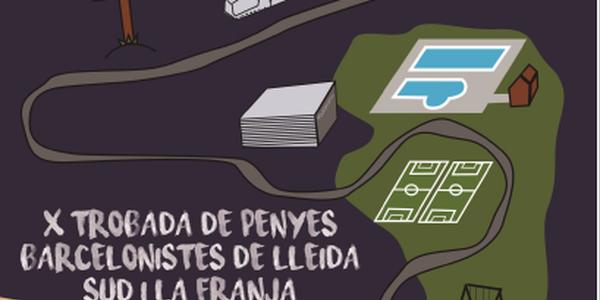 X Torbada de penyes Barcelonistes de Lleida sud i la franja