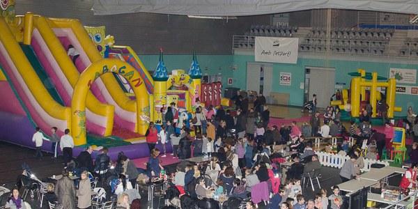 Zona de ball, cinema i espai de videoconsoles, novetats del Parc de Nadal de Torrefarrera que clou amb èxit de participació